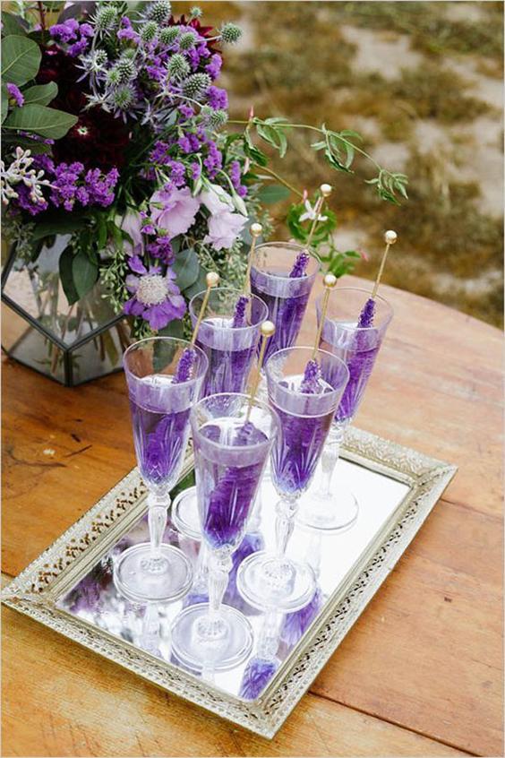matrimonio in ultra violet drink viola