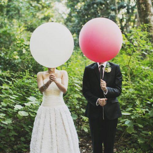 idee per decorare il tuo matrimonio con palloncini