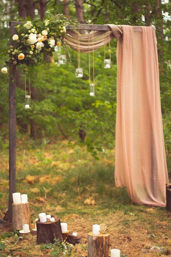 cerimonia-nel-bosco-candele