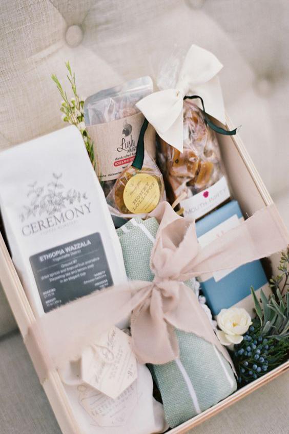 scatola matrimonio contenuto