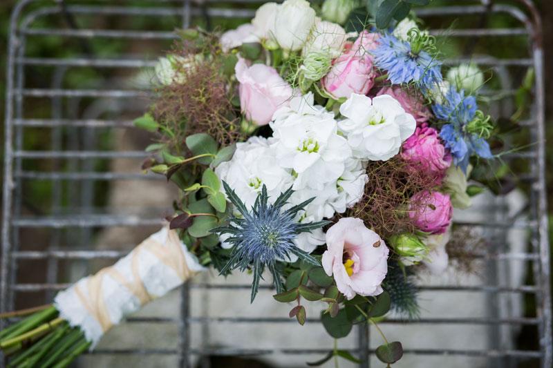bouquet sposa inspo campestre