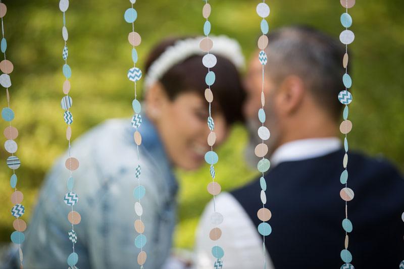 allestimento matrimonio udine particolare ghirlanda