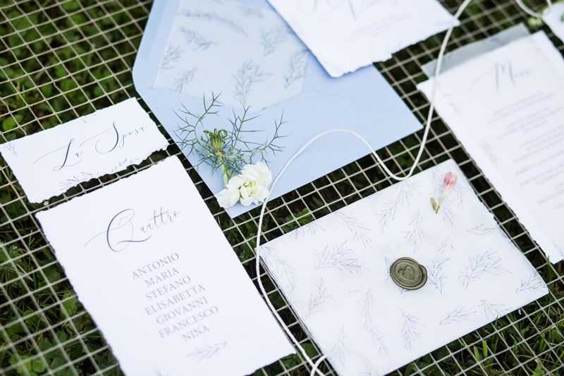 stationery matrimonio